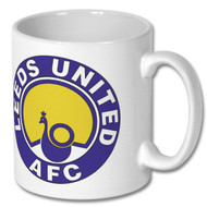 Leeds United Retro Mug  - Free UK Delivery