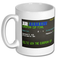 Celtic European Cup Win Ceefax Mug