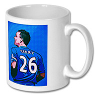 Chelsea FC - John Terry Pop Art Mug - Free UK Delivery
