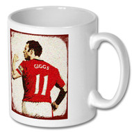 Manchester United - Ryan Giggs Artwork Mug - Free UK Delivery