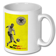 """Franz Beckenbauer """"Der Kaiser"""" Retro Mug - Free UK Delivery"""