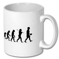 Rugby Evolution Mug - Free UK Delivery