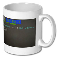 Salford City FA Cup Win Ceefax Mug - Free UK Delivery