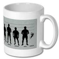 Rugby / Soccer Fairy Mug - Free UK Delivery