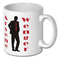 Arsenal, Arsene Wenger Mug - Free UK Delivery