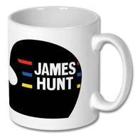 James Hunt Mug and Coaster Set - Free UK Delivery