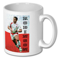 Jason Robinson - Legends Mug - Free UK Delivery