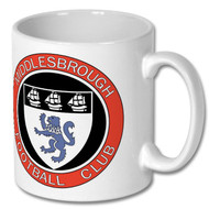 Retro Middlesbrough Mug - Free UK Delivery