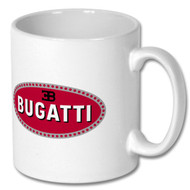 Retro Bugatti Mug - Free UK Delivery