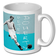 MCFC Legend - Peter Doherty - Free UK Delivery