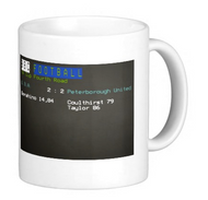 W.B.A. v Peterborough FA Cup Ceefax Mug - Free UK Delivery