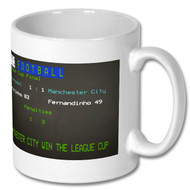 MCFC 2016 League Cup Final Ceefax Mug - Free UK Delivery