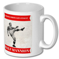Boro Legend - Wilf Mannion Mug - Free UK