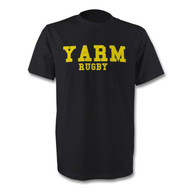 Yarm Rugby T-Shirt Black - Free UK Delivery