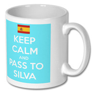 Keep Calm and Pass to Silva Mug - Free UK Delivery