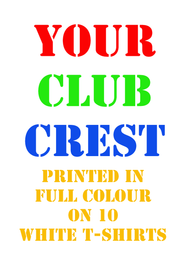 10 Club T-Shirts Special Offer - Free UK Delivery