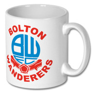 Retro Bolton Wanderers Mug - Free UK Delivery