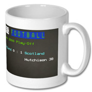 England 0 Scotland 1 Ceefax Mug - Don Hutchison's Choice