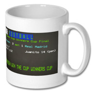 Aberdeen v Real Madrid Ceefax Mug - Graham Hunter's Choice