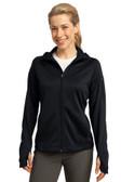 Sport-Tek - Ladies Tech Fleece Full-Zip Hooded Jacket. L248.