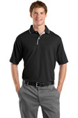 Sport-Tek Dri-Mesh Polo with Tipped Collar and Piping. K467.