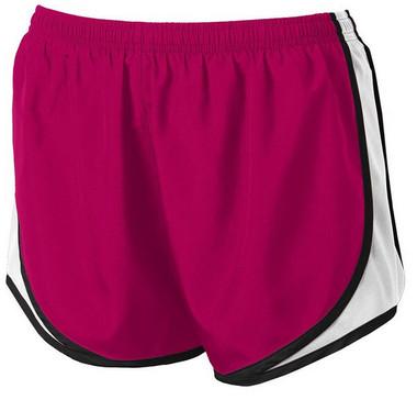 Ladies Moisture-Wicking Track & Field Running Shorts in Ladies Sizes: XS-4XL