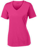 Women's Athletic All Sport V-Neck Tee Shirt in 12 Colors - Sizes XS-4XL
