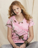Code V - Ladies' Realtree® Camouflage T-Shirt - 3685
