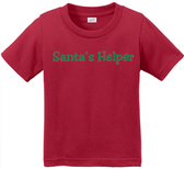 Joe's USA - Santa's Helper Toddler Christmas T-Shirts in Sizes: 2T, 3T, 4T