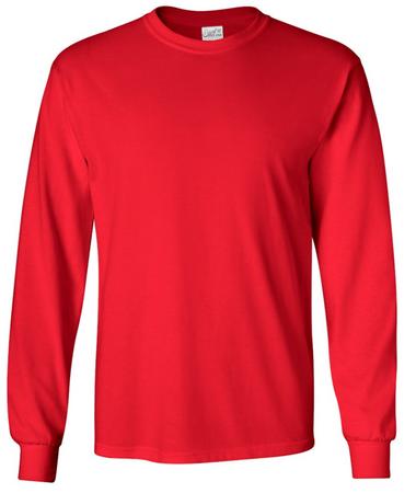 Joe's USA Long Sleeve Cotton T-Shirts