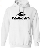 Koloa Surf Co. Logo Hoodies - Hooded Sweatshirts White / Black logo
