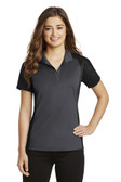 Sport-Tek Ladies Colorblock Micropique Sport-Wick Polo. LST652.
