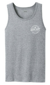 Athletic Heather / White logo