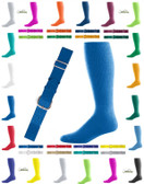Joe's USA Youth Baseball Belt And Sock Combo - Royal