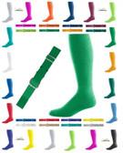 Joe's USA Youth Baseball Belt And Sock Combo - Kelly Green