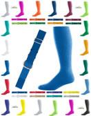 Joe's USA Adult Baseball Belt And Sock Combo - Royal