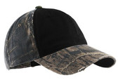 Port Authority Camo Cap with Contrast Front Panel. C807.