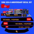 1996 520-H ANNIVERSARY  DECAL SET