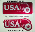 MADE IN USA REPRODUCTION WHEEL HORSE DECALS