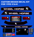 1995 416-H CUSTOM DESIGN DECAL KIT