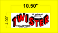 TWISTER TRACTOR DECALS