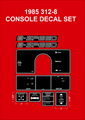 1985 312-8 DASH AND CONSOLE KIT