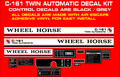 Copy of C-161 TWIN AUTOMATIC REPRODUCTION DECAL KIT