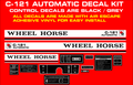 C-121  AUTOMATIC REPRODUCTION DECAL KIT