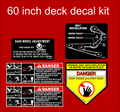 60 INCH SIDE DISCHARGE DECK KIT