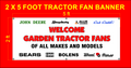 WELCOME TRACTOR FANS