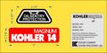 KOHLER MAGNUM ENGINE REPRODUCTION DECAL SET