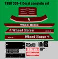 1987 - 1988 Wheel Horse  308-8 COMPLETE SET