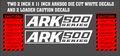 ARK 500 FRONT END LOADER DECAL SET