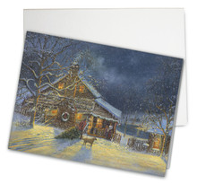 Country Cabin Card